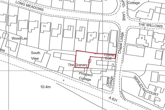 Residential Building Plot Chapel Lane Everton DN10 5BJ